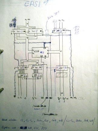 Eprom-Smulator Schaltplan