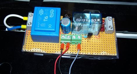 Dtemp-Relaisleiterplatte