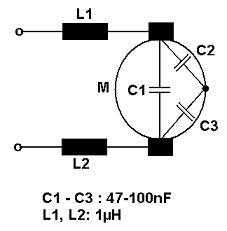 Schaltplan Motor-EMV