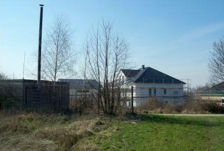 Pumpstation und Neubau