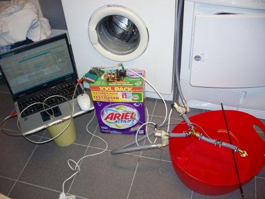 Heisse Phase in der Waschküche