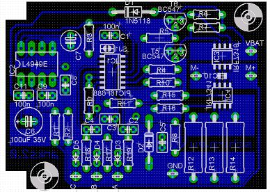 Elektronik - Bestueckungsplan