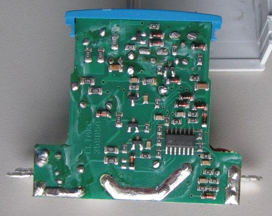 Eltako FR12-230 von innen SMD-Seite