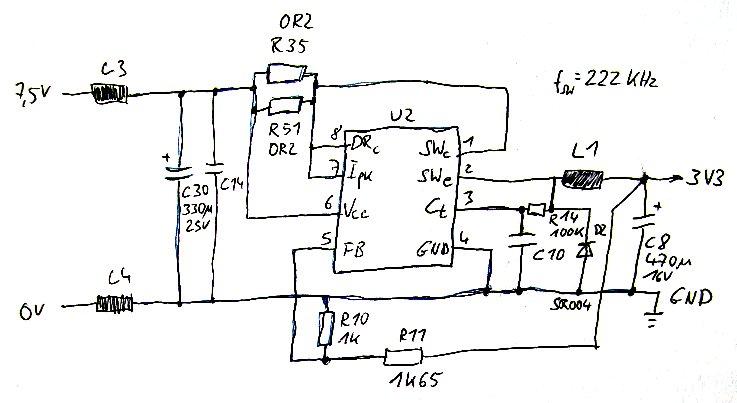 FS605 Original-Schaltplan