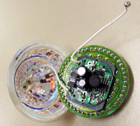 LED-Lampe Innenansicht