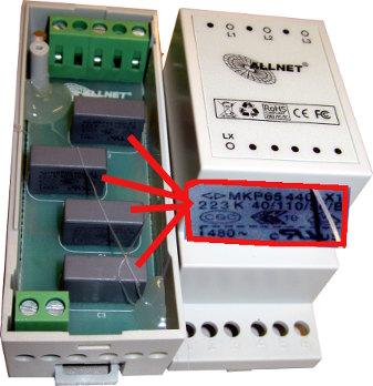 PLC Phasenkoppler von Innen, Schaltung ist uebersichtlich