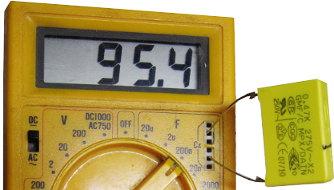 Kondensator <100nF