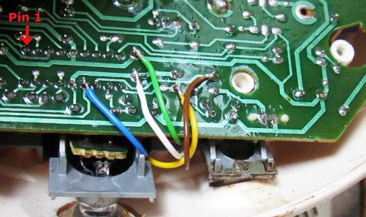 Anschluss des Autostart-Controllers Lp Senseo 1. Generation