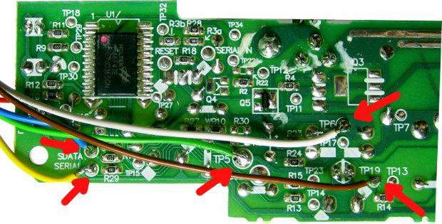 Anschluss des Autostart-Controllers Lp -60002