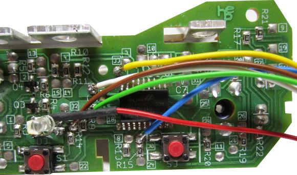 Anschluss des Autostart-Controllers HD7810/69