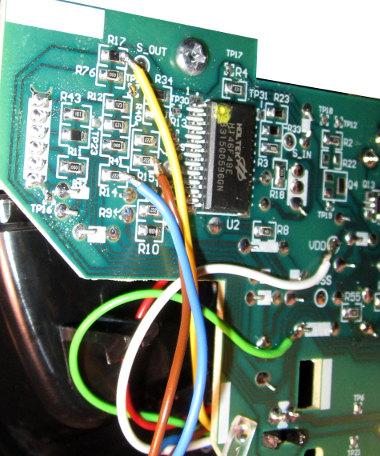 Anschluss des Autostart-Controllers an Senseo HD7825/60/A