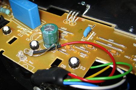 Anschluss der Autostart-LED HD7825/60