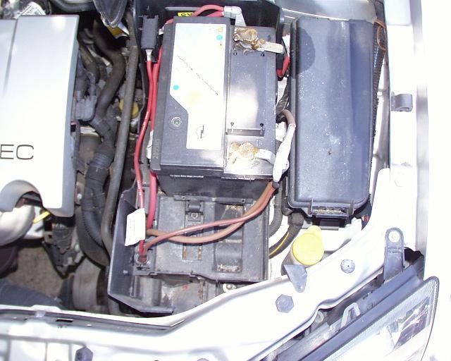 Batteriekasten vorher