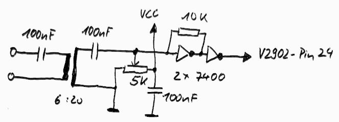 Schaltplan SPDIF-Input simpel